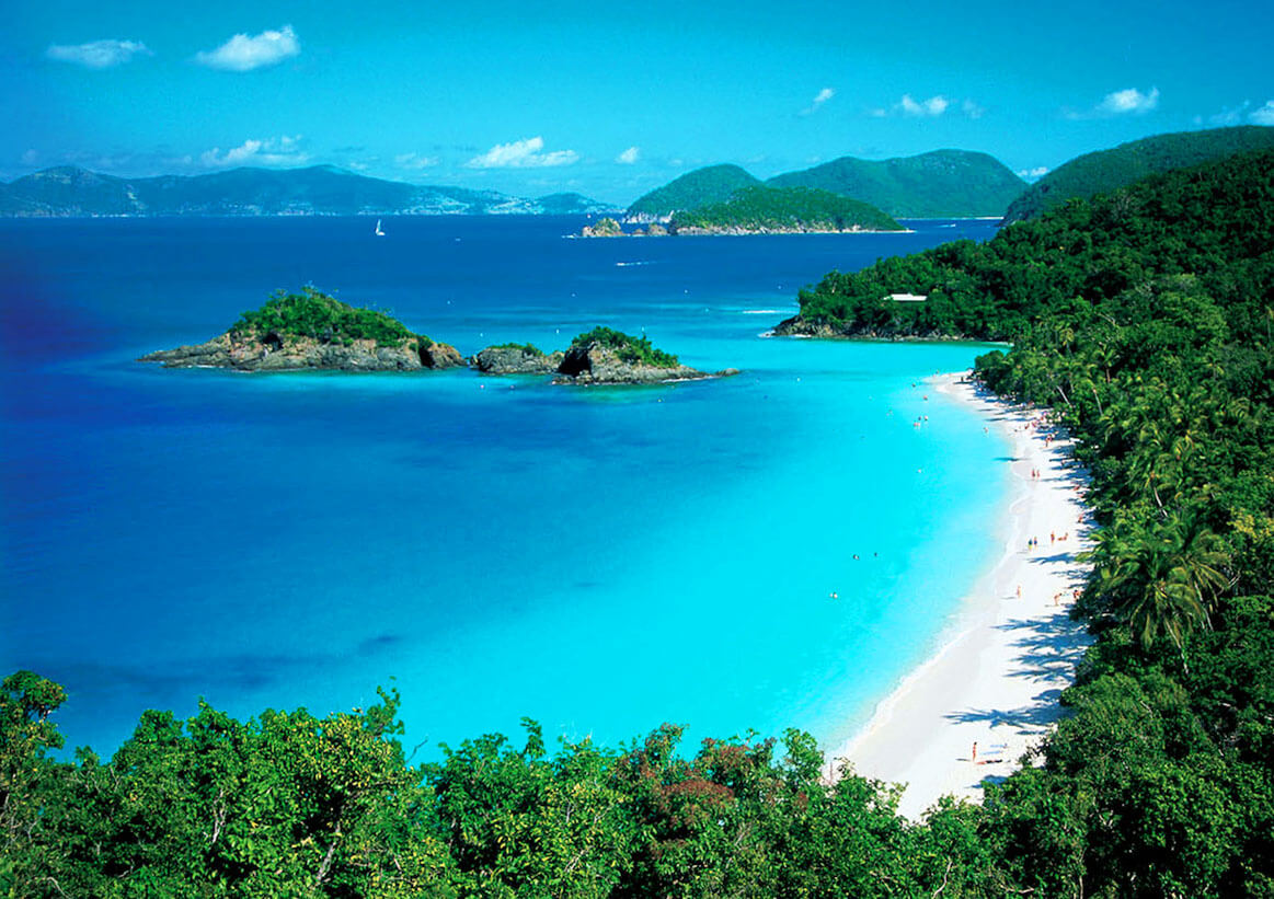 Trunk Bay, St. John, Karibik